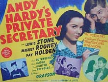 Andy Hardy's Private Secretary halfsheet