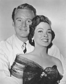 Publicity Photo with Van Johnson