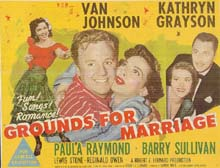 Grounds for Marriage lobby card (title card)