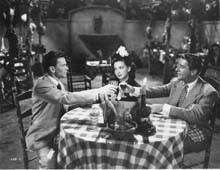 Scene with Frank Sinatra and Peter Lawford