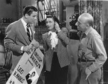 Scene with Peter Lawford and Jimmy Durante