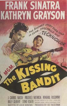 Kissing Bandit one sheet