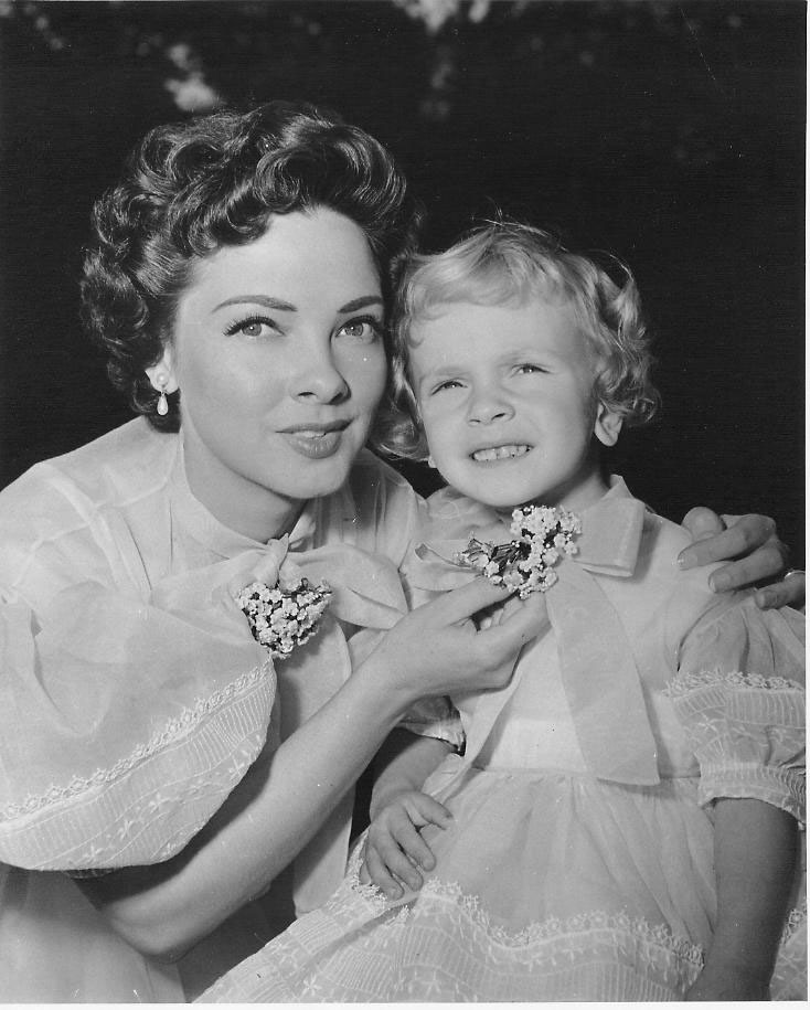 With daughter Patti Kate (1953)