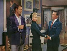 Scene with Howard Keel and Ron Randell