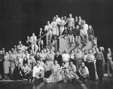 Entire cast and crew of Kiss Me Kate