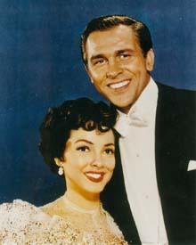 Publicity Photo with Howard Keel