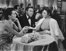 Scene with Ann Miller and Howard Keel