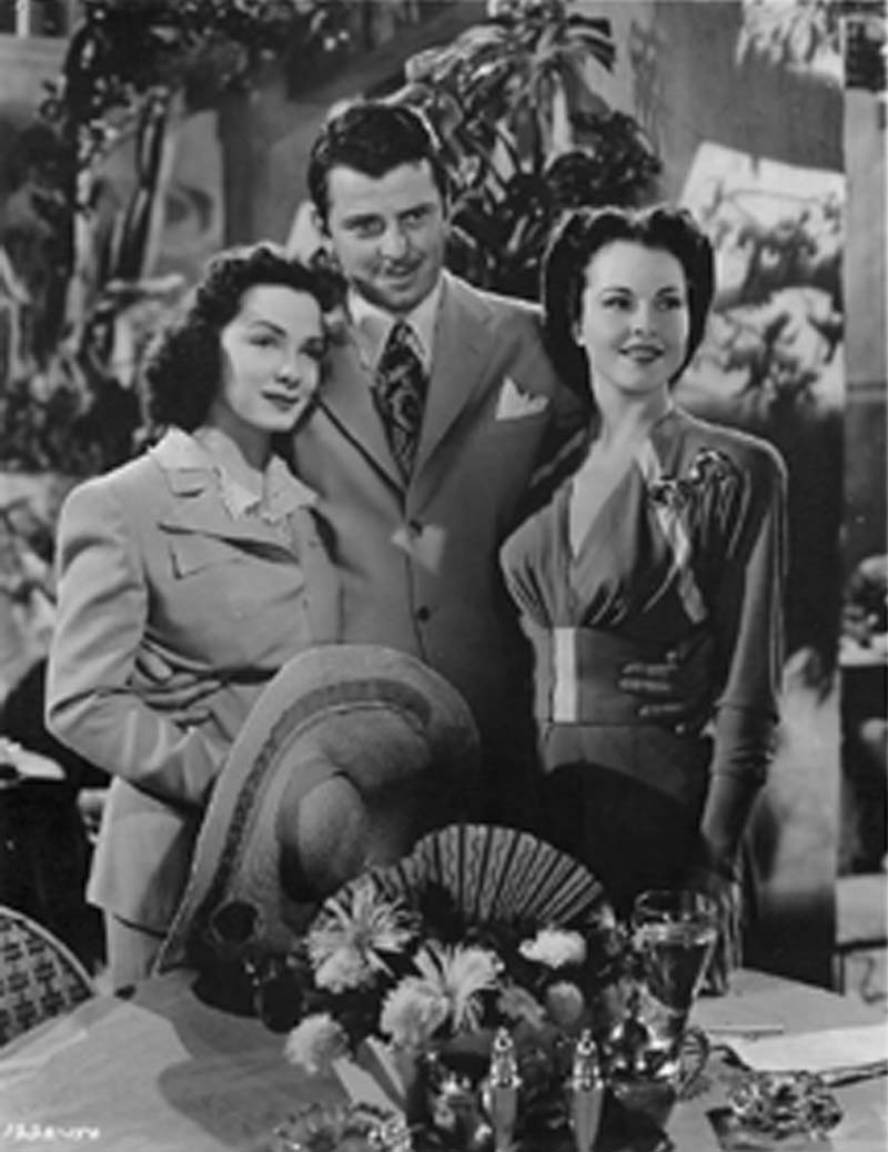Publicity Photo with John Carroll and Patricia Dane