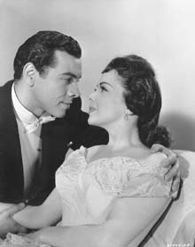Publicity Photo with Mario Lanza