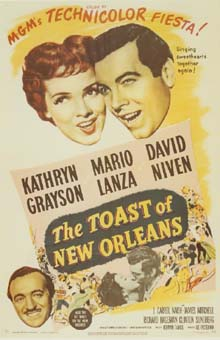 Toast of New Orleans one sheet