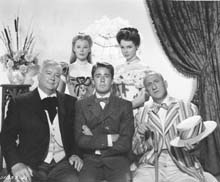 Publicity Photo with Lauritz Melchior, June Allyson, Peter Lawford and Jimmy Durante